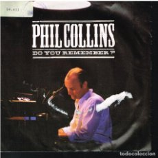 Discos de vinilo: PHIL COLLINS - DO YOU REMEMBER? / AGAINST ALL ODDS - SINGLE 1990 - ED. ALEMANIA. Lote 156872738