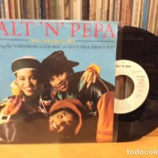 Discos de vinilo: SALT ´N´ PEPA YOU SHOWED ME + 2 SINGLE COMO NUEVO. Lote 156872934