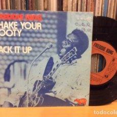 Discos de vinilo: FREDDIE KING SHAKE YOUR BOOTY + 1 SINGLE RSO 1974. Lote 156873482