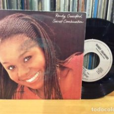 Discos de vinilo: RANDY CRAWFORD SECRET COMBINATION + 1 SINGLE HISPAVOX 1981. Lote 156874050