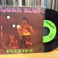 Discos de vinilo: SUGAR BLUE PONTIAC + 1 SINGLE PROMO GUIMBARDA 1981 @ COMO NUEVO. Lote 156874282