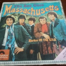Discos de vinilo: THE BEE GEES - MASSACHUSETTS - SINGLE - 1967. Lote 156874602