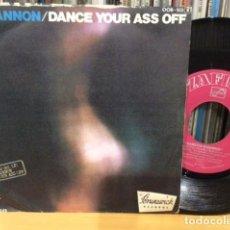 Discos de vinilo: HAMILTON BOHANNON DANCE YOUR ASS OFF + 1 SINGLE PROMO ZAFIRO 1976. Lote 156875738