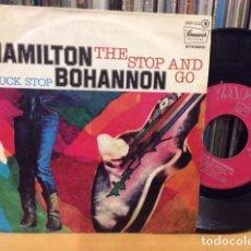 Discos de vinilo: HAMILTON BOHANNON THE STOP END GO + 1 SINGLE ZAFIRO 1977. Lote 156876010