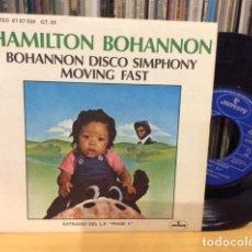 Discos de vinilo: HAMILTON BOHANNON BOHANNON DISCO SYMPHONY + 1 SINGLE MERCURY 1977 @ COMO NUEVO. Lote 156876286