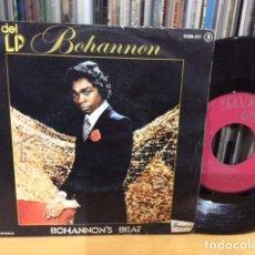 Discos de vinilo: HAMILTON BOHANNON BOHANNON´S BEAT + 1 SINGLE ZAFIRO 1976. Lote 156876602