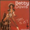 Discos de vinilo: BETTY DAVIS - THIS IS IT! - 2XLP. Lote 156876902