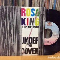 Discos de vinilo: ROSA KING UNDER THE COVER + 1 SINGLE AVC 1989 @ COMO NUEVO. Lote 156877018