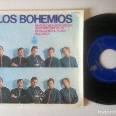 Discos de vinilo: LOS BOHEMIOS - NINGUNO ME PUEDE JUZGAR - EP 1966 - HISPAVOX . Lote 156877086