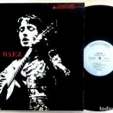 Discos de vinilo: JOAN BAEZ - JOAN BAEZ - LP USA 1959 - VANGUARD. Lote 156879382