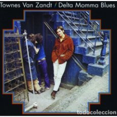 Discos de vinilo: LP TOWNES VAN ZANDT DELTA MOMMA BLUES VINILO. Lote 63208372