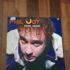 "Discos de vinilo: PHIL JAY - FEEL ALIVE 12"" ITALODANCE 2002. Lote 156880308"