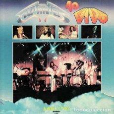 Discos de vinilo: MUTANTES - AO VIVO - 2017 VINILISSSIMO RECORDS REISSUE. Lote 156880374