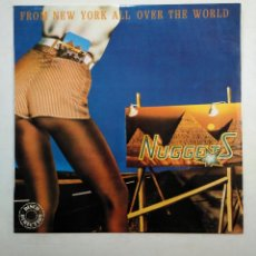 Discos de vinilo: NUGGETS. FROM NEW YORK ALL OVER THE WORLD. LP. TDKDA38. Lote 156880774
