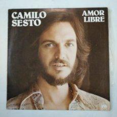 Discos de vinilo: CAMILO SESTO. AMOR LIBRE. LP. TDKLP. Lote 156881338