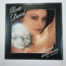 Discos de vinilo: ROCIO DURCAL. - CUANDO DECIDAS VOLVER - LP. TDKLP. Lote 156881658