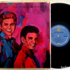 Discos de vinilo: THE EVERLY BROTHERS - BOTH SIDES OF AN EVENING - LP UK 1961 - WARNER BROS. RECORDS. Lote 156883642
