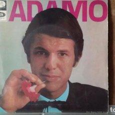 Discos de vinilo: ** ADAMO - LE NEON / UNE LARME AUX NUAGES + 2 - EP AÑO 1967 - PROMO - LEER DESCRIPCION. Lote 156885946