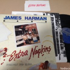 Discos de vinilo: JAMES HARMAN BAD EXTRA NAPKINS. Lote 156887258