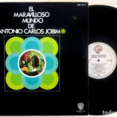 Discos de vinilo: ANTONIO CARLOS JOBIM - EL MARAVILLOSO MUNDO DE ANTONIO CARLOS JOBIM - LP 1970 - WARNER BROS. RECORD. Lote 156889598