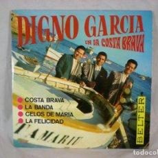 Discos de vinilo: DIGNO GARCIA EN LA COSTA BRAVA - BELTER 51.885 - 1968. Lote 156890974