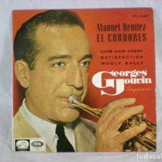 Discos de vinilo: GEORGES JOUVIN, TROMPETA DE ORO - MANUEL BENÍTEZ EL CORDOBÉS - 1966 - EPL 14.247. Lote 156892470