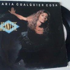 Discos de vinilo: SINGLE (VINILO) DE JEANETTE AÑOS 80. Lote 156894622