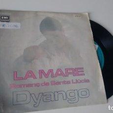 Discos de vinilo: SINGLE (VINILO) DE DYANGO AÑOS 70. Lote 156894842