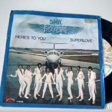 Discos de vinilo: SINGLE (VINILO) DE SKYY AÑOS 80. Lote 156895106