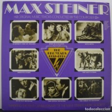 Discos de vinilo: MAX STEINER THE RKO YEARS. THE MAX STEINER SOCIETY 1975. Lote 156899666