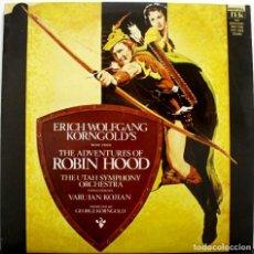 Discos de vinilo: ROBIN HOOD. ERICH WOLFANG KORNGOLD. EDICIÓN 1983. Lote 156900234