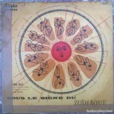 Discos de vinilo: TONI REDI. SOUS LE SIGNE DU ZODIAQUE. FIESTA, BELGIUM LP 10'' (10057). Lote 156901906