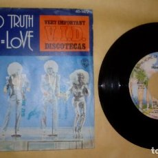 Discos de vinilo: UNDISPUTED TRUTH - YOU ME LOVE . Lote 156904674