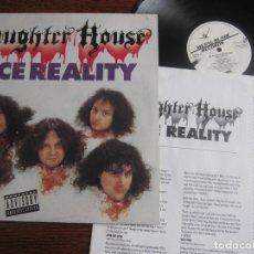 Discos de vinilo: SLAUGHTER HOUSE `FACE REALITY` 1991 UK. TRASH METAL. Lote 156803266
