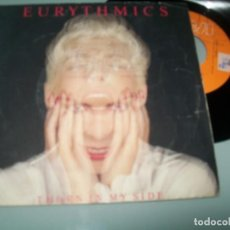 Discos de vinilo: EURYTHMICS - THORN IN MY SIDE + IN THIS TOWN .. SINGLE DE 1986 RCA - ESPAÑOL. Lote 156907606