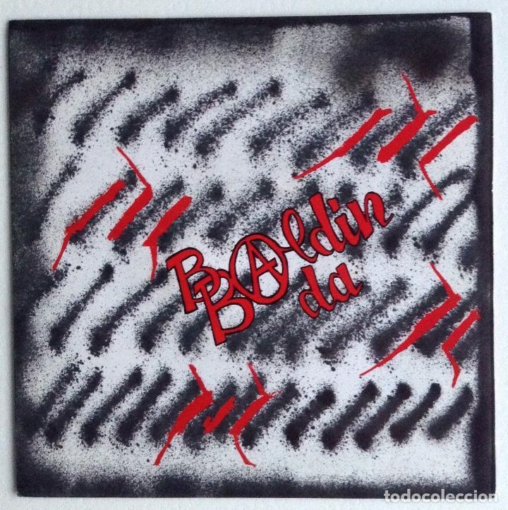 Discos de vinilo: BALDIN BADA single vinilo Beti bilatzen Oihuka - Foto 2 - 156908078