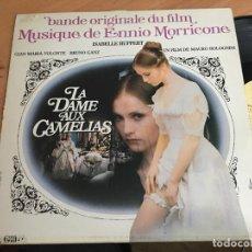 Dischi in vinile: ENNIO MORRICONE (LA DAME AUX CAMELIAS) LP FRANCIA (VIN-B0). Lote 156908690