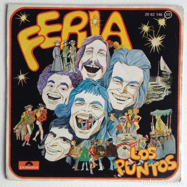 LOS PUNTOS SG FERIA (Música - Discos - Singles Vinilo - Rock & Roll)