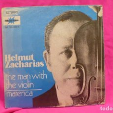 Discos de vinilo: HELMUT ZACHARIAS -- THE MAN WITH THE VIOLIN / MARENCA, MARFER, 1975.. Lote 156910358