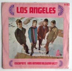 Discos de vinilo: LOS ÁNGELES SG ESCÁPATE HAS AMADO ALGUNA VEZ?. Lote 156910446