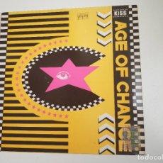 Discos de vinilo: AGE OF CHANCE - KISS (VINILO). Lote 156910502
