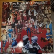 Discos de vinilo: BAND AID - DO THEY KNOW IT'S CHRISTMAS?. Lote 156911142