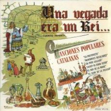 Discos de vinilo: CANCIONES POPULARES CATALANAS, CASAS AUGE, 1958. Lote 156911150