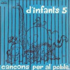 Discos de vinilo: COR MADRIGAL, CANÇONS PER AL POBLE. MANUEL OLTRA 1976. -CON LETRAS-. Lote 156911498