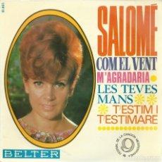 Disques de vinyle: SALOME, COM EL VENT. BELTER 1967. Lote 156913146