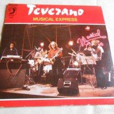 Discos de vinilo: TEVERANO, SG, MUSICAL EXPRES + 1, AÑO 1981. Lote 156913870