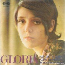 Disques de vinyle: GLORIA, POR ESO TE QUIERO. MOVIEPLAY 1971 SINGLE. Lote 156914086