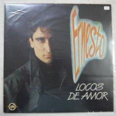 Discos de vinilo: ERNESTO - LOCOS DE AMOR - MAXISINGLE 1985 . Lote 156914266