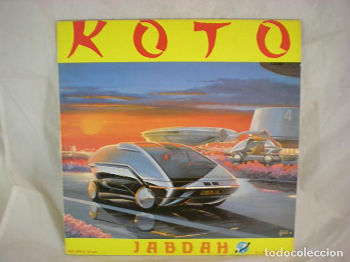 KOTO - JABDAH - KEY RECORDS INT. - KRI-023-M - SPAIN (Música - Discos de Vinilo - Maxi Singles - Disco y Dance)