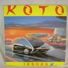 Discos de vinilo: KOTO - JABDAH - KEY RECORDS INT. - KRI-023-M - SPAIN. Lote 156915946